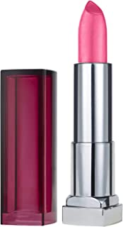 Maybelline New York Color Sensational Pink Lipstick, Satin Lipstick, Pink & Proper, 0.15 Ounce, Pack of 1