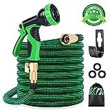 Best expandable garden hose - KURTVANA Expandable Garden Hose with 9 Function Nozzle,Durable Review