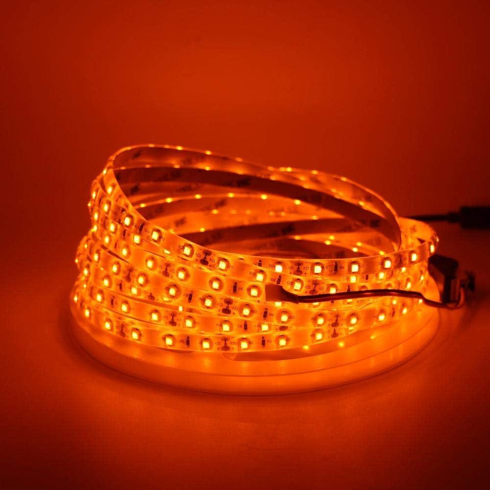 iNextStation Orange LED Special price Strip Light 3528 SMD 300 12V 16.4ft Max 55% OFF