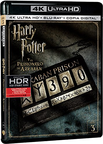 Harry Potter y el Prisionero de Azkaban 4k UHD [Blu-ray]