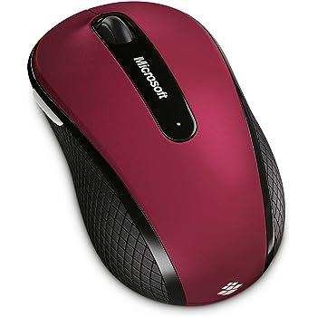 マイクロソフト ワイヤレス・モバイル・マウス 4000/ルビー・ピンク 並行輸入品