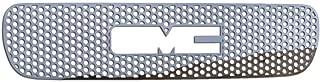 Ferreus Industries Polished Stainless Circle Punch Grille Grill Insert Trim fits: 2000-2006 GMC Yukon & 1999-2002 GMC Sierra TRK-130-03-02