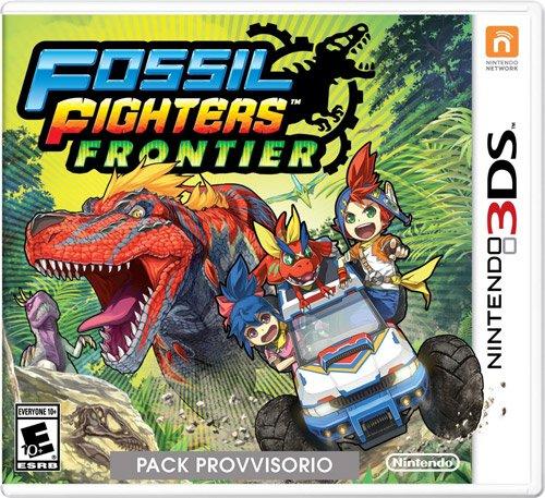 Nintendo 3DS - Fossil Fighters Frontier - Juego (Nintendo 3DS, RPG (juego de rol), E10 + (Everyone 10 +))