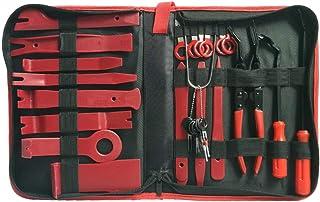 Garneck Conjunto de ferramentas para remoção de acabamento de carro, kit de ferramentas de remoção de rádio, alto-falante ...
