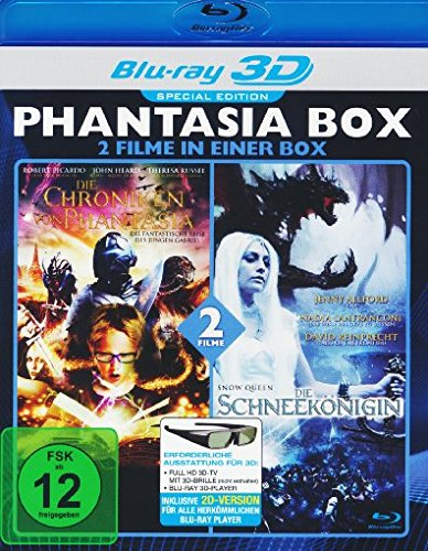 Phantasia Box Real 3d (2 Filme) [Blu-ray]
