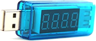 Soondar USB Voltage Current Multimeter - USB Power Meter USB Tester Monitor - USB Meter 2.0/3.0 Amp Volt LED Reader - Ultra Portable Durable V/A Measure