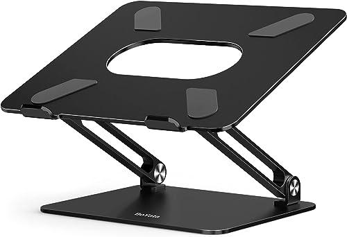 BoYata Support pour Ordinateur Oortable , Support de Refroidissement à Sable Multi-Angle, Compatible avec MacBook Pro...