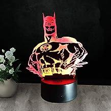 LXXYD 3D Visual Light Optical Illusion Led Night Light - Spider Night Light USB Table Lamp Crystal 3D Night Light Gift Dec...