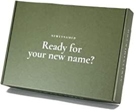 NewlyNamed Box   Personalized Name Change After Marriage Kit   Gift Card