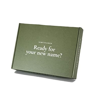 NewlyNamed Box Gift Card | Personalized Name Change After Marriage Kit