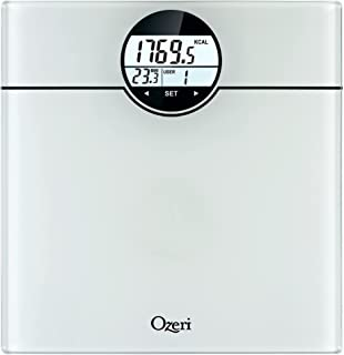 Ozeri Weightmaster (440 Lbs/ 200 Kg) Bath Scale with BMI, Bmr & 50g Weight Change Detection