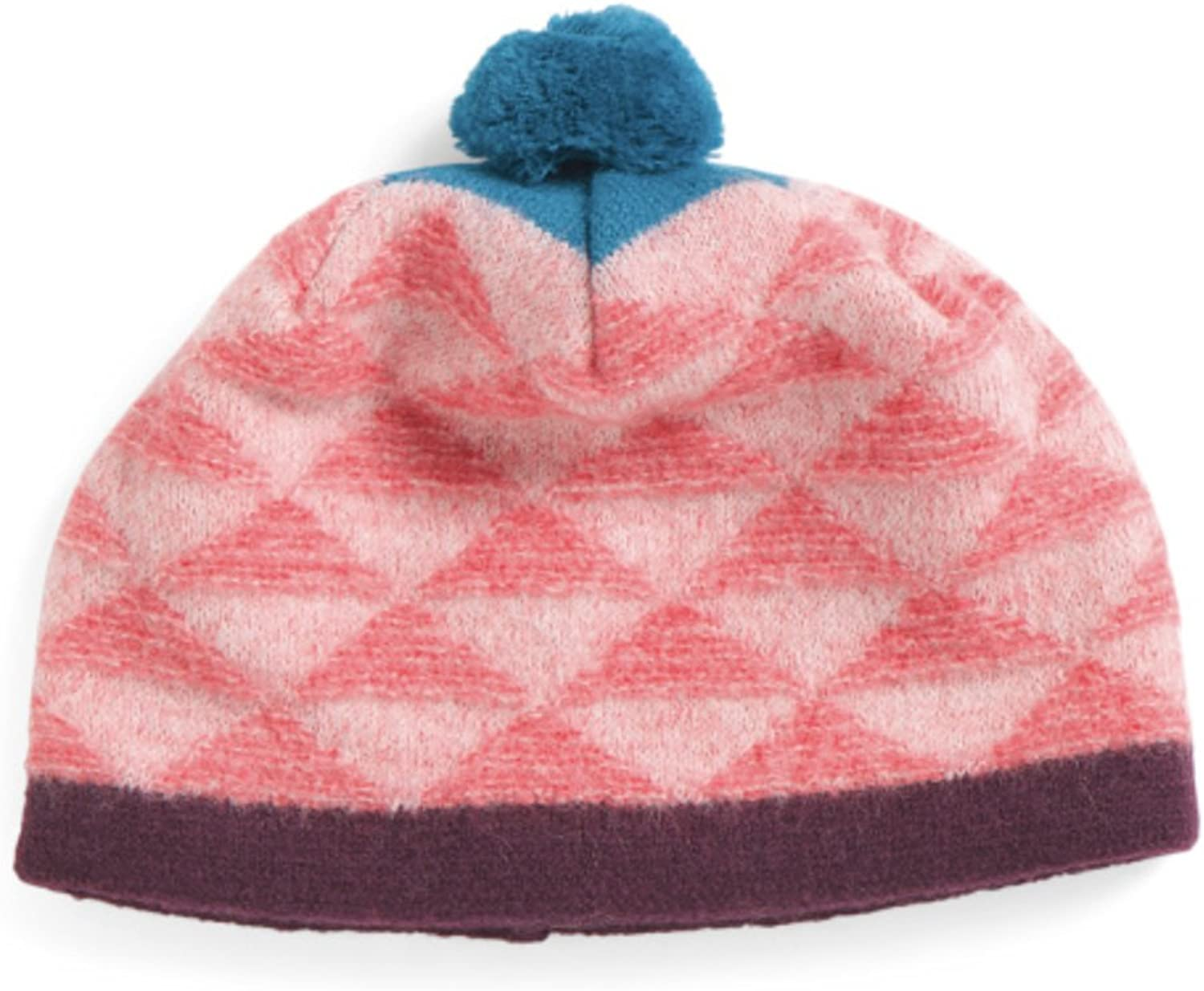 Pistil Women's  Made In   Geo Diamond Boiled Wool Pom Pom Beanie