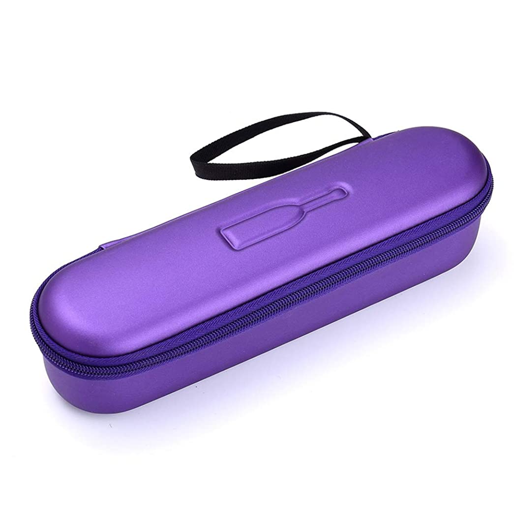 宙返り待って着るHeallily 歯ブラシケース電動歯ブラシコンテナ保護用旅行用収納ケースアウトドア(パープル)