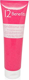 12 Benefits Conditional Love 30 Second Hair Moisturizer Treatment for Unisex, 5.07 Ounce