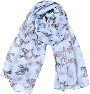 Scarf for Women Lightweight Fashion Fall Winter Shawl Wraps Spring Autumn Scarves (Color : Light blue, Size : Onesize)