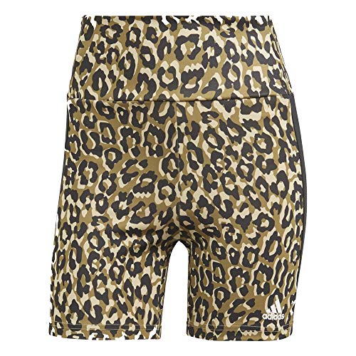 adidas Aeroready Leopard - Pantalones cortos para mujer multicolor L