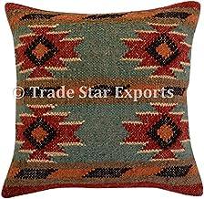 Kilim Pillow,Kilim Pillows,Kilim Pillow Cover,Pillow Covers,Boho Pillow,16x16,Geometric Kilim Pillow SP4040 6037