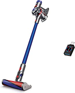 Premium Dyson V7 Fluffy HEPA Cordless Vacuum Cleaner I Combination Crevic Tool I 2 Power Modes and 2 Tier Radial Cyclones ...