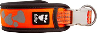 Hurtta Weekend Warrior Dog Collar , Neon Orange, 22-26 in