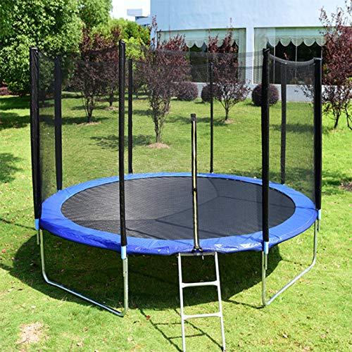 HWGNT Trampolin Für Außenbereich Mit Sicherheitsnetz Und Leiter, Sprungmatte, Durchmesser 183/244/305cm, Kindertrampolin, Garten-Trampolin