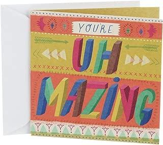 Hallmark Studio Ink Birthday Card (Uh Mazing)