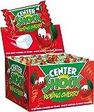 Center Shock Rolling Cherry, 1 Box mit 100 Kaugummis, Kirsche-Mix extra sauer