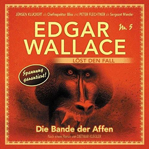 Die Bande der Affen audiobook cover art