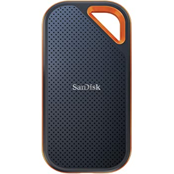 SanDisk Extreme® Pro Portable SSD 500GB, 1050 MB/s R, IP55 Rated, for PC, MAC & Smartphone, 5 Y Warranty