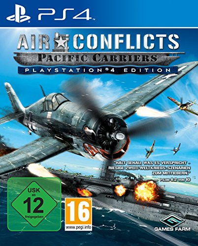 Air Conflicts: Pacific Carriers - PlayStation 4 Edition [Import allemand]