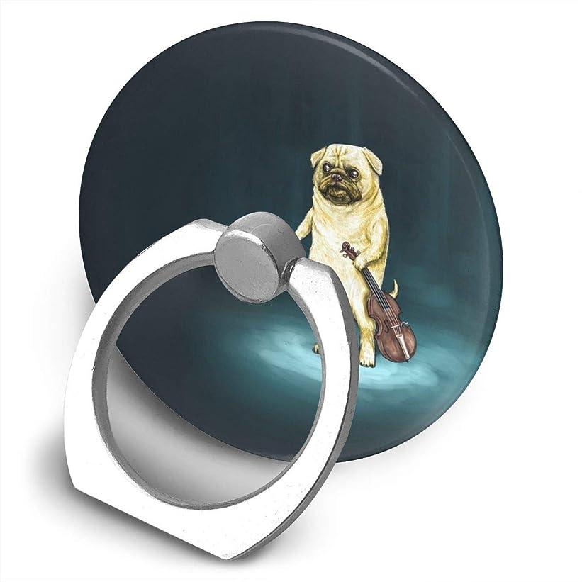 ガロン論争的あなたのものLAKHHN セレナ ゴメス 犬 バイオリン まる スマホリング ホールドリング スタンド機能 落下防止 バンカーリング 各機種対応