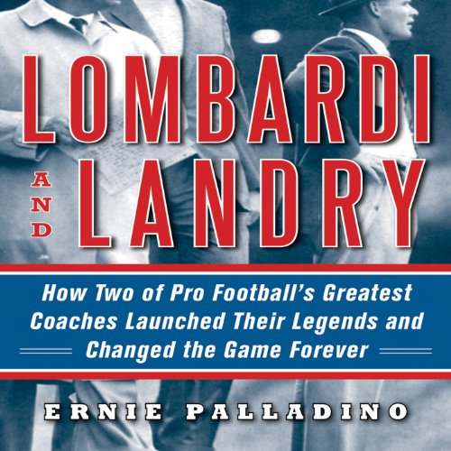 Lombardi and Landry audiobook cover art