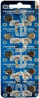 New Renata Batteries 10 Pcs/ 1 Card Silver Oxide Battery SR927SW, 395