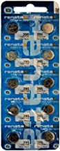 New Renata 10 Pcs/ 1 Card Silver Oxide Battery SR927SW, 395
