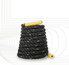 SportPlus Premium training- en sporttouw voor crossfit, uithoudingsvermogen en spieropbouw, slangenlijn, lengte 9/12/15 m