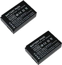 2 Piezas 1200 mAh LP-E12 LPE12 Batería para Canon EOS M100