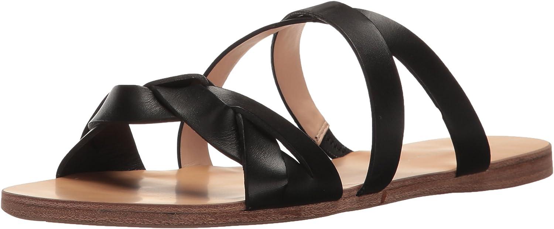 G.H. Bass & Co. Womens Scarlett Flat Sandal