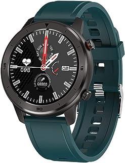 Reloj inteligente para hombres IP68 resistente al agua con monitor de actividad para mujeres, dispositivos portátiles, reloj inteligente con monitor de frecuencia cardíaca