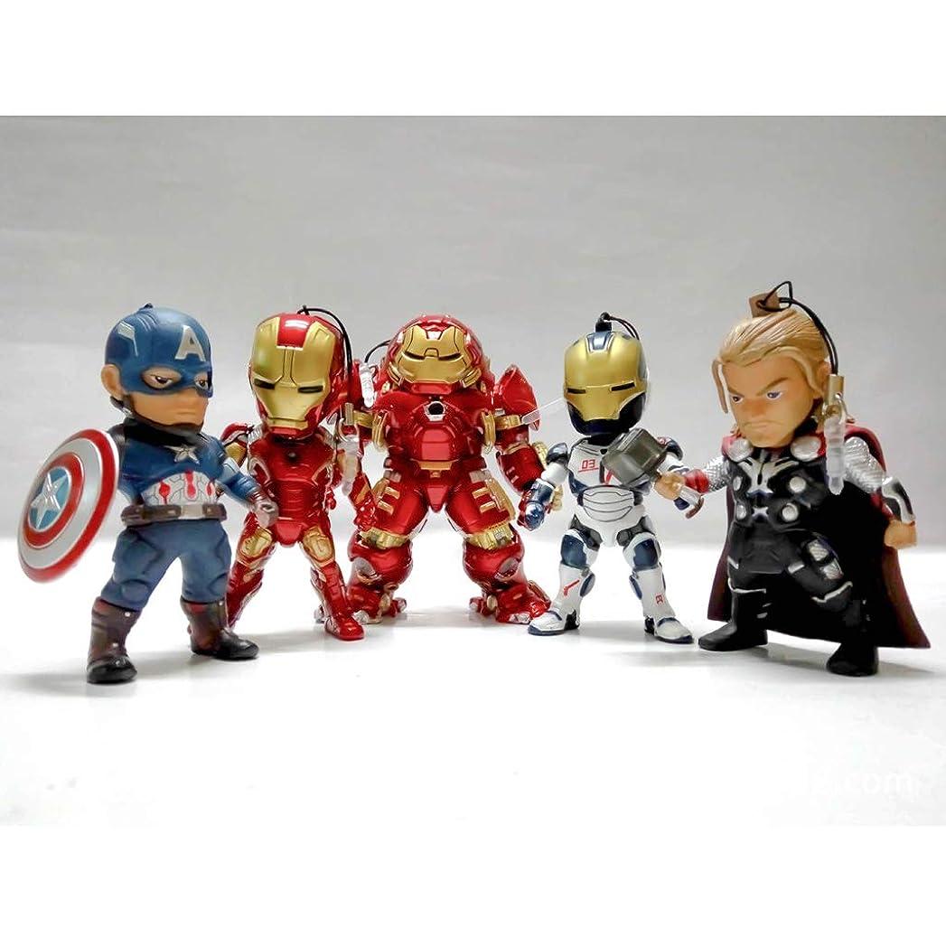 一流線形有名人おもちゃ、おもちゃ、彫像、おもちゃ、モデル、漫画のキャラクター、ギフト、装飾品、お土産の6セット Hyococ