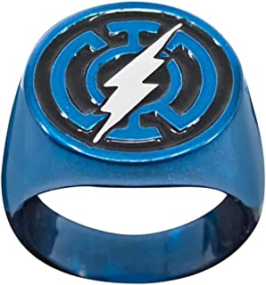 blue lantern flash ring