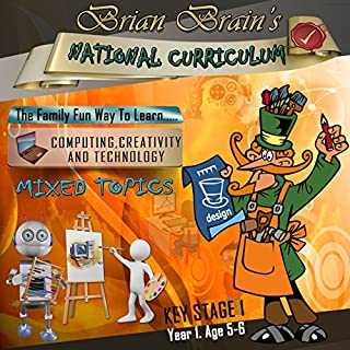 Brian Brain's National Curriculum KS1 Y1 CCT - Mixed Topics cover art
