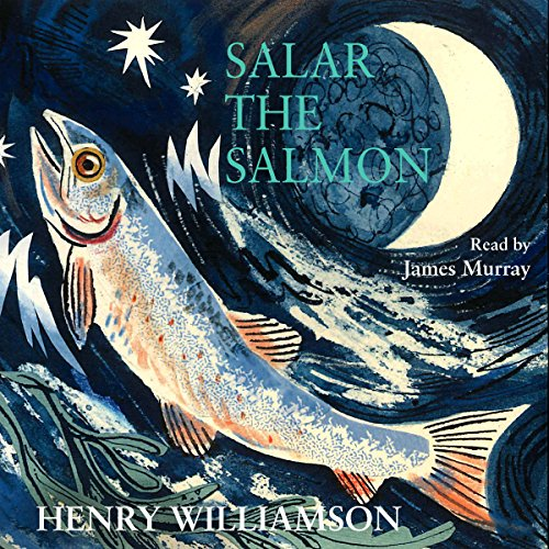 Salar the Salmon audiobook cover art