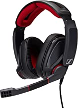 Sennheiser GSP 350 PC Gaming Headset with Dolby 7.1 Surround Sound, Flip-to-Mute Mic, USB connectivity, Volume Control, Memory Foam Earpads,