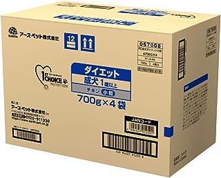 【Amazon.co.jp限定】 ファーストチョイス ドッグフード 成犬 1歳以上 ダイエット 去勢・避妊した愛犬 小粒 チキン 700g×4袋