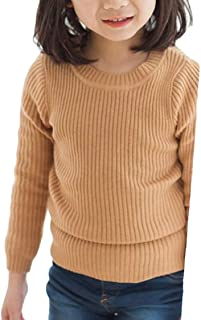 pipigo Girl Knit Warm Pullover Cute Plush Jumper Boys Sweaters