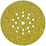 Wolfcraft 5632000 discos adhesivos de lijar grano 60, perforadas, para lijadores de plafones y pared...