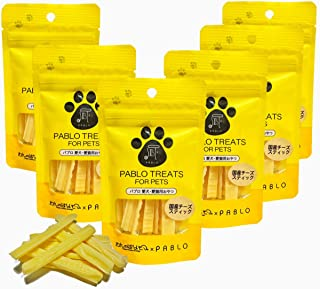PABLO パブロ 国産 チーズスティック 無添加 小麦粉不使用 犬用 おやつ セット (30g×6袋)