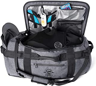 Rip Curl Men's Search Cordura 50L Duffle Mesh Grey