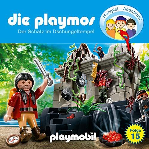 Der Schatz im Dschungeltempel. Das Original Playmobil Hörspiel Titelbild
