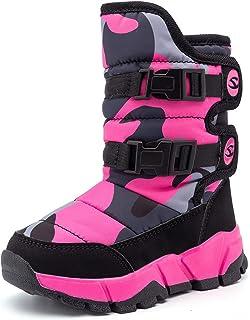 Girl'sBoy's Outdoor Waterproof Shoes Kids Winter Snow Boots