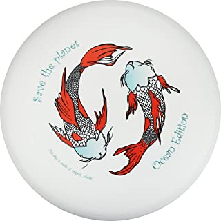 Eurodisc 175g 100% Organic Ultimate Frisbee Disc Design KOI - Save The Planet Ocean Edition Special Scratch Resistant Full Color Print